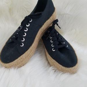 Superga Cotropew platform espadrilles sneakers